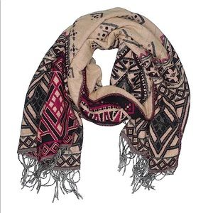 Blanket Patterned Scarf
